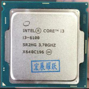 Intel Core I3 6100 LGA1151