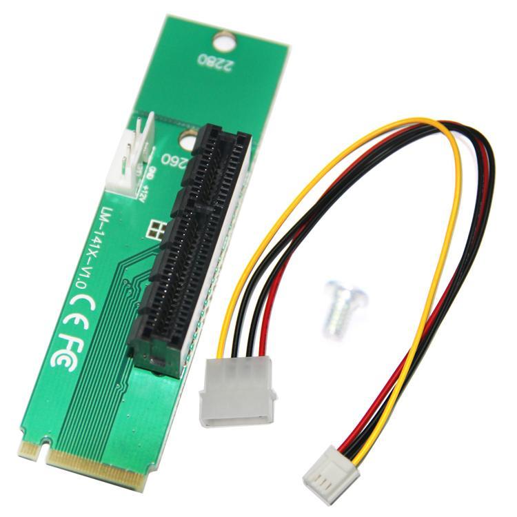 слот расширения M2 до PCI-E 4X