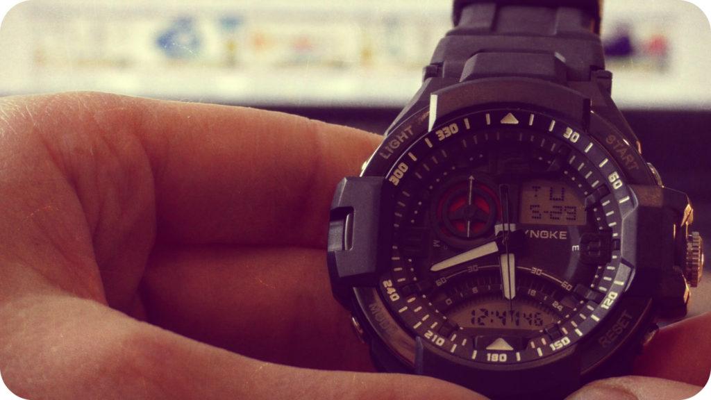 SYNOKE 67876 Мужские водонепроницаемые часы